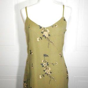 Sue Wong Dresses - Vintage Sue Wong Silk Floral Evening Dress
